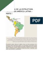 Panorama de La Estructura Agraria en América Latina