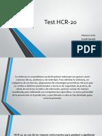 Test HCR-20 Expo