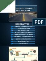 Mètodo Del Instituto Del Asfalto Exposicion