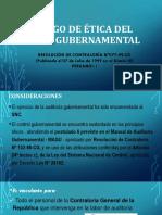 Ppt Etica Del Auditor Gubernamental