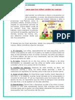 10 Consejos Para Que Los Niños Cuiden Su Cuerpo
