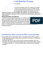 Cell Reselection