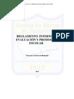Reglamento de Evaluacion y Promocion Último 21-11-2016 (1)