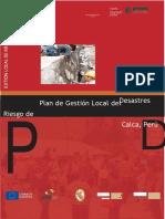 Plan Gestion Local Riesgo de Calca