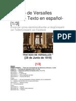 Documento Del Tratado de Paz de Versalles PARTE2