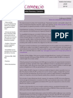 Boletín Finanzas & Comercio julio 2010