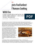 Cooking With Fire Articles