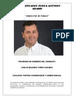 Programa de Gobierno - Los Santos