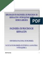 Ingeniería de Procesos de Refinación