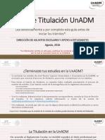 1. Guía UnADM Titulación Agosto2016