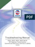 Allison Transmission Troubleshooting Manual TS3353