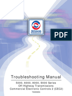 Allison Transmission Troubleshooting Manual TS3353   Throttle