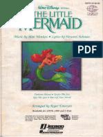 Walt Disney's Little Marmaid - Medley - SATB.pdf