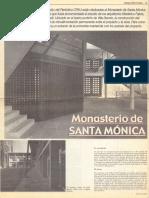 CPAU Obras_ Monasterio Sta Mónica_V.devoto_Faivre-Román-Lavaselli