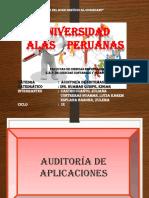 Ppt Auditoria de Aplicaciones