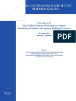 2005 - Proceedings of the First NEES E-Defense Workshop on Collapse Simulation of Reinforced Concrete Structures