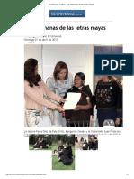 Aguilar - Las Chamanas de Las Letras Mayas