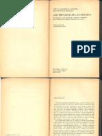 Cardoso y Brignoli, 1981 - Los Métodos de La Historia