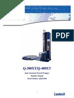 QX011598 Manual