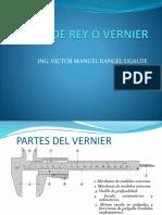 Pie de Rey ó Vernier