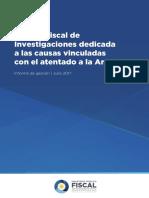Informe Fiscales AMIA 2017