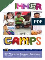 2017 Summer Camp Book