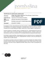 Identificação Por Queiloscopia e Palatoscopia
