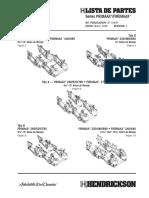 Catalogo de Partes de Suspensiones Hendrickson Series PRIMAAX® y FIREMAAX™