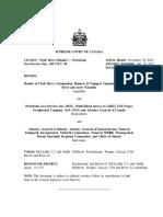 Clyde River (Hamlet) v. Petroleum Geo-Services Inc., 2017 SCC 40