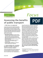 01 Assessing the Benefits of Public Transport