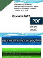 Exposicion Reactor Bacht