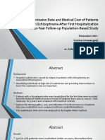 The readmission rate and medical cost of patients.pptx