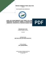 Trabajo Final - Metodologia de Investigacion I - Yudelca Amparo Paulino