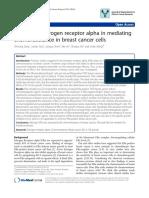 The Role of estrogen Receptor Alpha