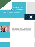 Médicos Oftalmólogos en Guadalajara