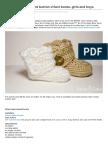 Imtopsyturvy.com-Crochet Wrap Around Button Infant Boots Girls and Boys