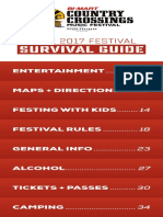 2017 CXMF Survival Guide