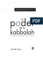 Yehuda, Berg - El poder de La Kabbalah.pdf