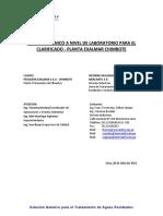 Informe Técnico a Nivel de Laboratorio Exalmar_clarificado