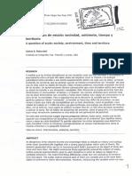 Reboratti (2001) Una cuestión de escala