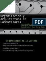 Clase 1_1 Introducción y Sistemas de Numeración 9-3-2017