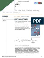 Condensación de Claisen _ Química Orgánica