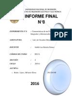 INFORME FINAL N08-Circuito Integrado y Diferenciador