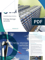 TNEI Energy Storage Services Brochure B2