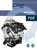Westport 3.8l Industrial Engine