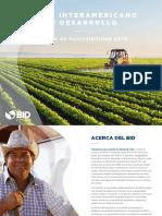 Informe de Sostenibilidad Del BID 2016