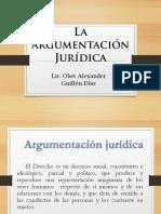 La Argumentación Jurídica
