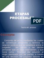 ETAPAS PROCESALES