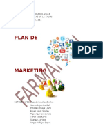 PLAn MArketing Farmacia
