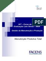 Curso Manutenção Produtiva Total - Iat - Facens - Alunos - Maio - 2010